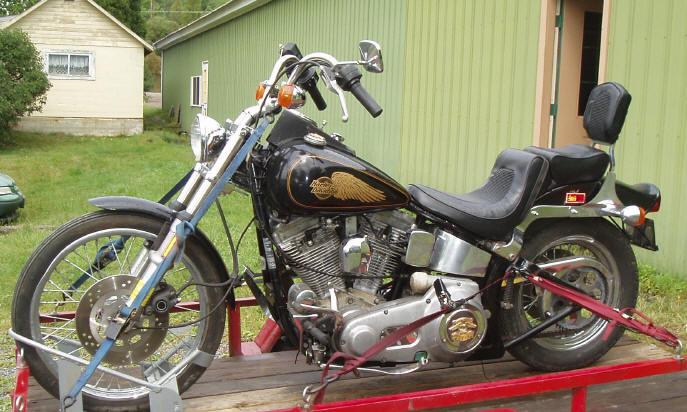 1985 harley davidson softail  u2013 idee di immagine del motociclo